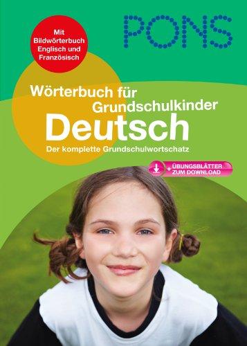 9783125175440: Pons Reference: Pons Deutschworterbuch Fur Grundschulkinder (German Edition)