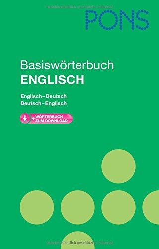 9783125175488: PONS Basiswörterbuch Englisch