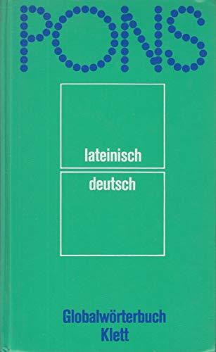 9783125175501: PONS Globalwörterbuch Lateinisch-Deutsch