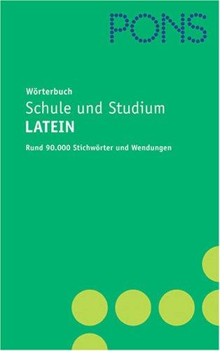 9783125175532: Woterbuch Schule Und Studium Latein