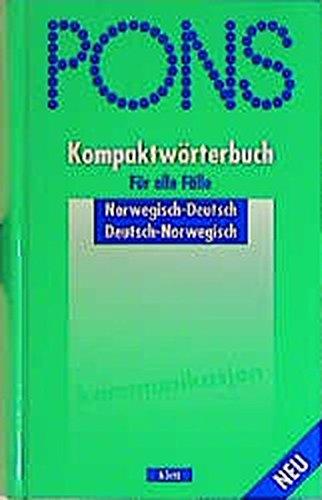 9783125175624: PONS Kompaktwörterbuch Norwegisch.