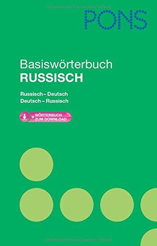 9783125175730: PONS Basiswörterbuch Russisch: Russisch-Deutsch/Deutsch-Russisch. Mit Download-Wörterbuch