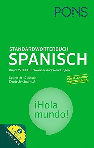 9783125175785: PONS Standardwörterbuch Spanisch