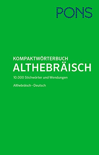 9783125176591: PONS Kompaktwörterbuch Althebräisch
