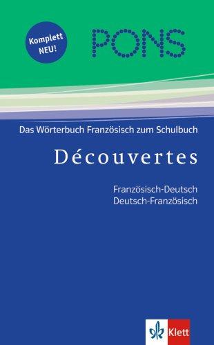 9783125176751: PONS Découvertes Wörterbuch/ Franz.-Dt./ Dt.-Franz