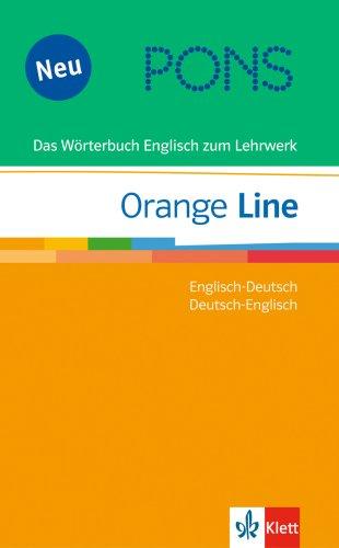 9783125176829: PONS Orange Line. Das Wörterbuch Englisch zum Lehrwerk