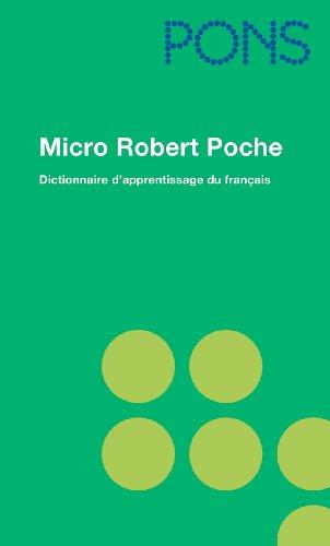 9783125177154: PONS Micro Robert Poche: Dictionnaire d' apprentissage de la langue francaise