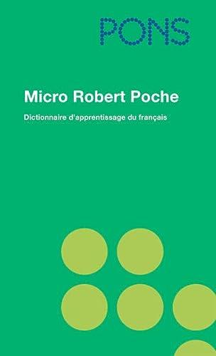 9783125177161: PONS Micro Robert Poche: Dictionnaire d'apprentissage de la langue francaise