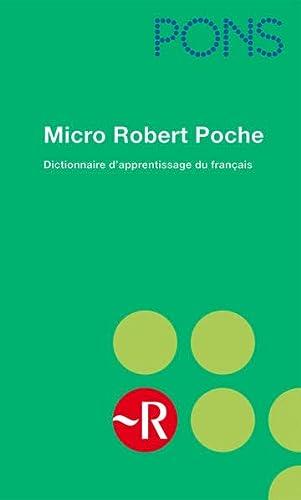 9783125177192: PONS Micro Robert Poche: Dictionnaire d'apprentissage de la langue française