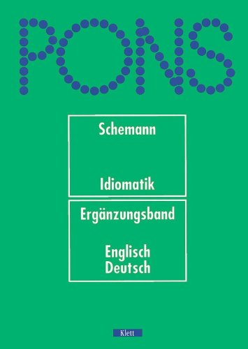 Pons Deutsche Idiomatik: Unnamed