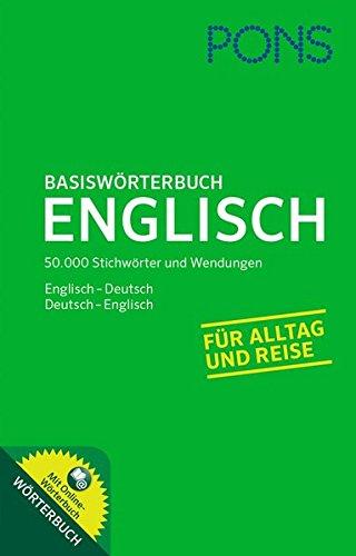 9783125177918: PONS Basiswörterbuch Englisch: Mit Online-Wörterbuch. Englisch-Deutsch /Deutsch-Englisch