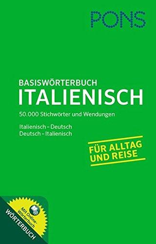 9783125177949: PONS Basiswörterbuch Italienisch: Mit Online-Wörterbuch. Italienisch-Deutsch /Deutsch-Italienisch