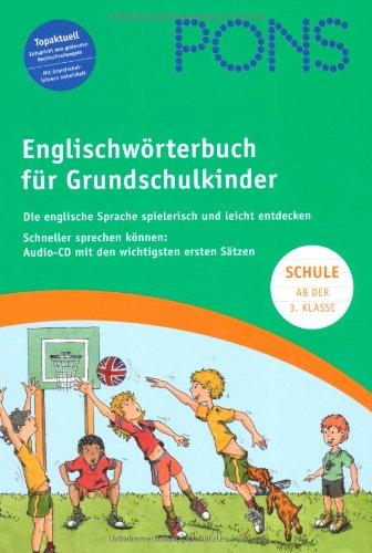 9783125178076: PONS Grundschulwörterbuch. Englisch-Deutsch / Deutsch-Englisch