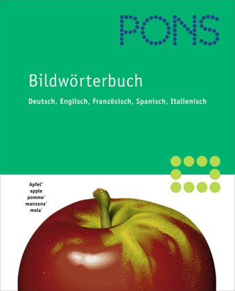 9783125178304: Pons Pictorial Dictionary: German-English-French-Spanish