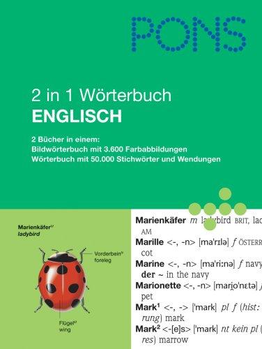 9783125178366: PONS 2 in 1 Wörterbuch Englisch. Deutsch-Englisch/Englisch-Deutsch (PONS-Wörterbücher)