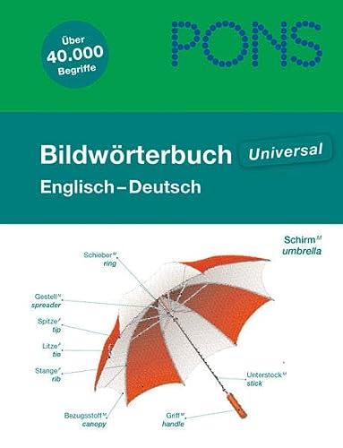 9783125178489: PONS Bildwörterbuch Englisch - Deutsch
