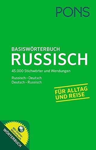 9783125178571: PONS Basiswörterbuch Russisch: Russisch-Deutsch/Deutsch-Russisch. Mit Online-Wörterbuch