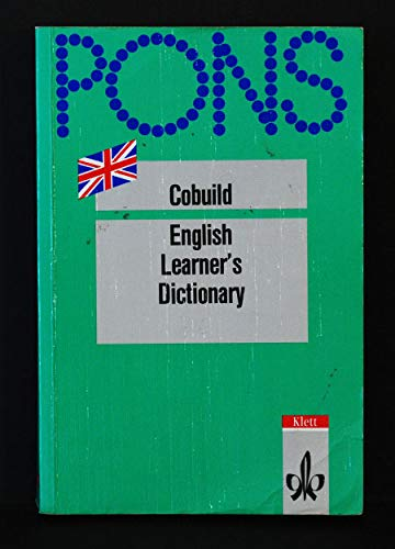 9783125179110: Pons Cobuild English Learner's Dictionary