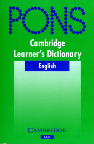 9783125179417: Cambridge Learner's Dictionary Klett Edition