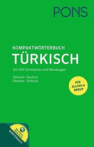 9783125179745: PONS Kompaktwörterbuch Türkisch: Türkisch-Deutsch / Deutsch-Türkisch mit Online-Wörterbuch