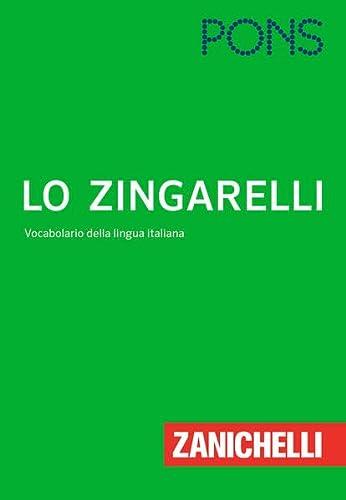 9783125179790: PONS Lo Zingarelli: Vocabolario della lingua Italiana