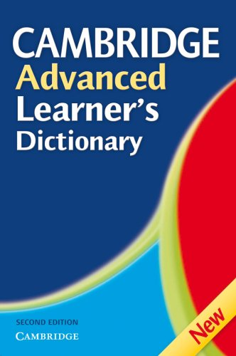 9783125179967: PONS Cambridge Advanced Learner's Dictionary