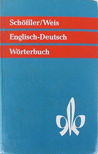 9783125181007: Woerterbuch der Englischen und Deutschen Sprache Vol. 1