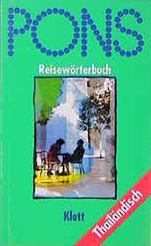 9783125185951: PONS Reisewörterbuch Thailändisch