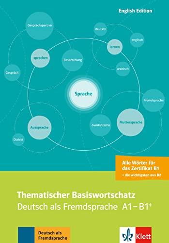 Thematischer Basiswortschatz Deutsch Als Fremdsprache A1 B1 Mit
