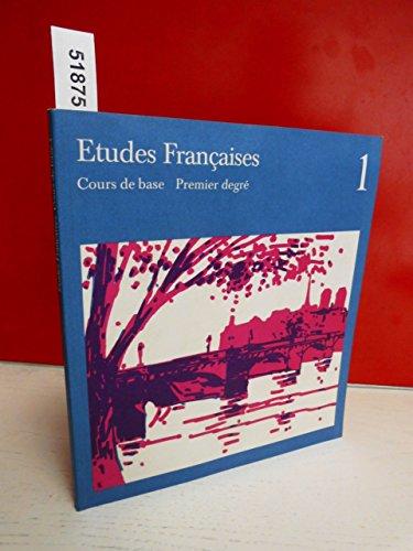 9783125201002: Etudes Francaises Cours de base Premier degre'