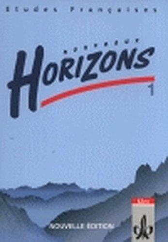 9783125209817: Nouveaux Horizons 1. Nouvelle edition. Bundesausgabe. Schülerbuch: Lesebuch zur Einführung in die Oberstufenarbeit