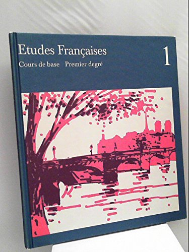 9783125210103: Etudes Francaises: Cours de base I. Schülerbuch