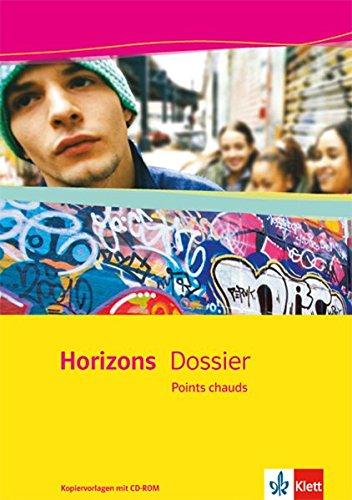9783125210981: Horizons Dossier / Points chauds: Kopiervorlagen mit CD