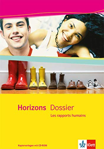 9783125211025: Horizons Dossier / Les rapports humains