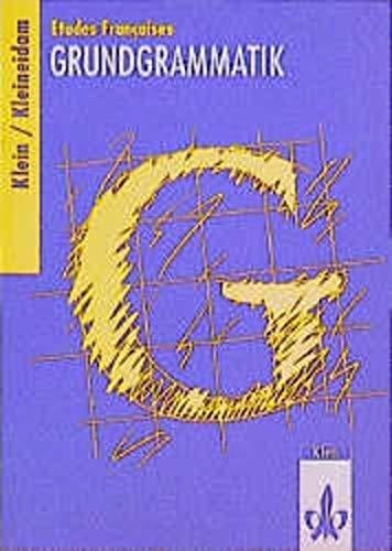 9783125217102: Etudes Francaises: Grundgrammatik