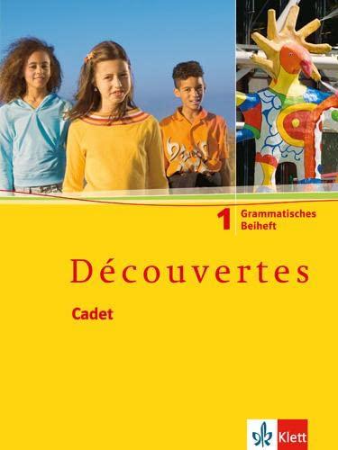 9783125220027: Découvertes Cadet 1. Grammatisches Beiheft