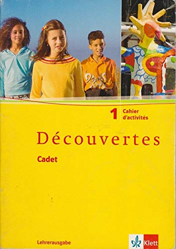9783125220041: Découvertes / Bd 1. Lehrerausgabe zum Cahier d'activités