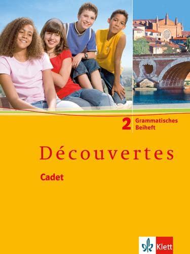 9783125220126: Découvertes Cadet 2. Grammatisches Beiheft