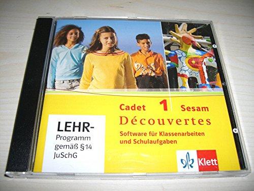 9783125220201: Decouvertes cadet, 1: Sesam. Software fur Klassenarbeiten und Schulaufgaben by