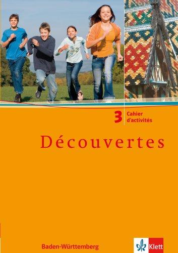 9783125220232: Découvertes, Cadet, Bd.3 : Cahier d' activités, Ausgabe Baden-Württemberg