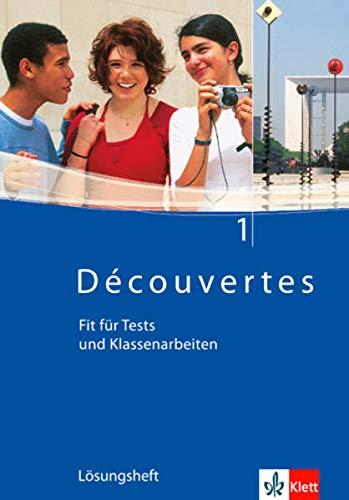 9783125220911: Découvertes 1. Fit für Tests und Klassenarbeiten. Arbeitsheft mit Lösungen und CD-ROM