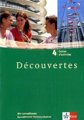 9783125228245: Klett Sprachtrainer. Französisch. Cahier d´activés Découvertes 4. Mit Lernsoftware, Sprachtrainer Kommunikation