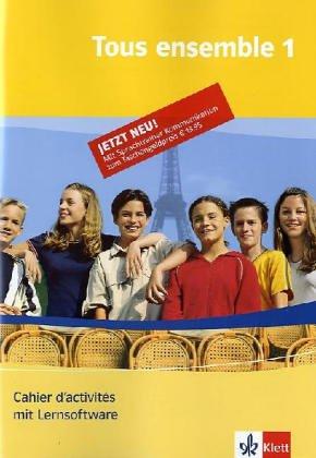 9783125229211: Klett Sprachtrainer. Französisch Band 1. Tous ensemble. Cahier inkl. CD-ROM für Windows 98SE/ME/XP/2000. Teilversion