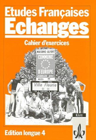 9783125230507: Etudes Francaises, Echanges, Edition longue, Cahier d' exercices