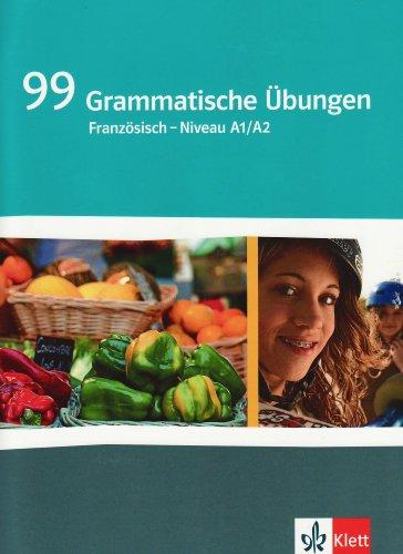 9783125230729: 99 Grammatische Übungen Französisch (A1/A2)