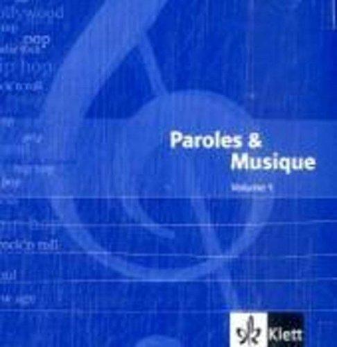 9783125231269: Paroles et musique: Doppel-Audio-CDs passend zu D�couvertes 1 + 2 und Tous ensemble 1 + 2 - Band 1