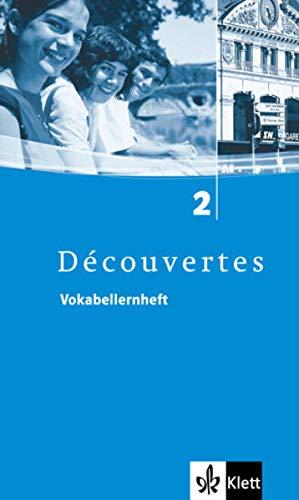 9783125233126: Découvertes 2. Vokabellernheft: Für Französisch als 2. Fremdsprache oder fortgeführte 1. Fremdsprache. Gymnasium