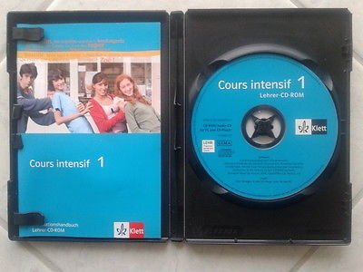 9783125236707: Cours intensif. Lehrer-CD-ROM by