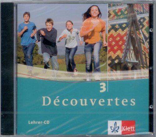 9783125238480: Découvertes Bd 3. Lehrer-CD