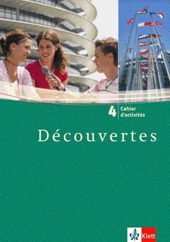9783125238633: Découvertes 4. Cahier d'activités